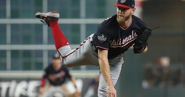 Stephen Strasburg Nats Astros World Series