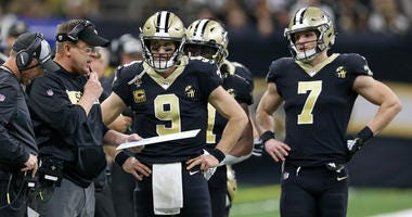 New Orleans Saints Sean Payton Drew Brees