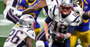 Tom Brady Sony Michel Super Bowl