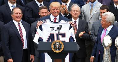 Donald Trump Bill Belichick Patriots