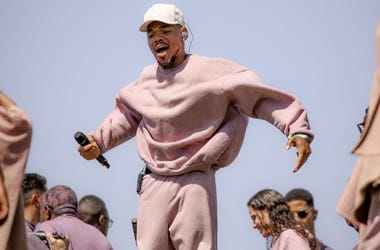 Chance The Rapper performs at Sunday Service during the 2019 Coachella Valley Music And Arts Festival on April 21, 2019 in Indio, California
