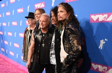 Aerosmith at MTV Awards