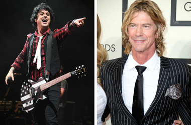 Billie Joe Armstrong and Duff McKagan