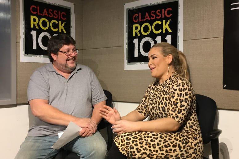Chris Lee Interviews WWE's Natalya!