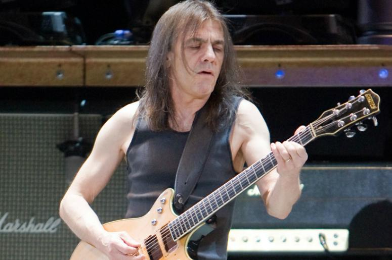 Malcom Young of AC/DC