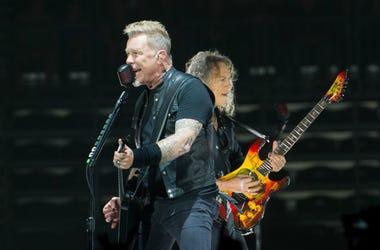 Metallica in 2017