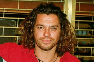 Michael Hutchence of INXS