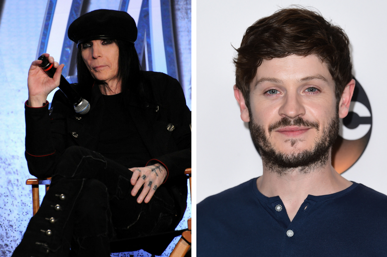 Mick Mars and Iwan Rheon