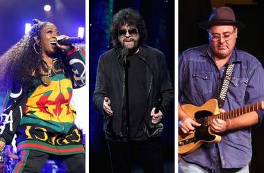 Missy Elliott, Jeff Lynne, Vince Gill