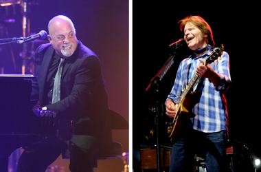 Billy Joel and John Fogerty