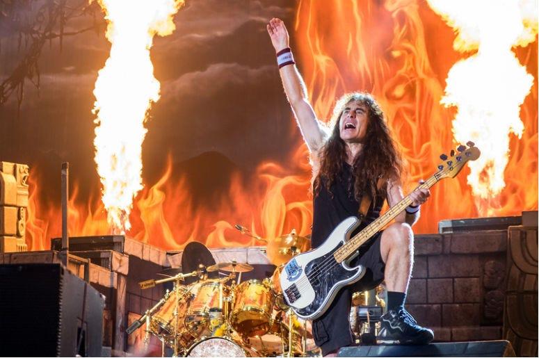Iron Maiden on concert in Prague - Eden Arena, 5. 7. 2016