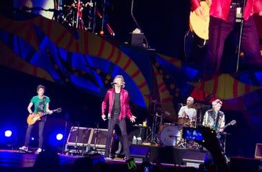 The Rolling Stones performing in Havana, Cuba 2016