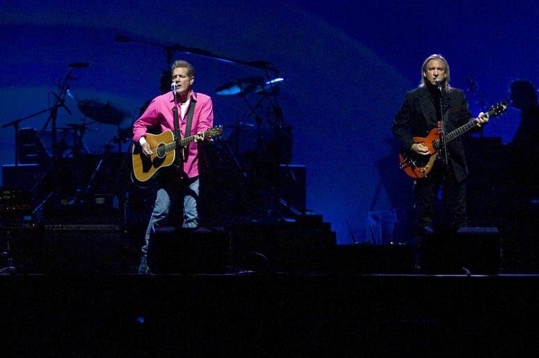 Glenn Frey - performing with The Eagles