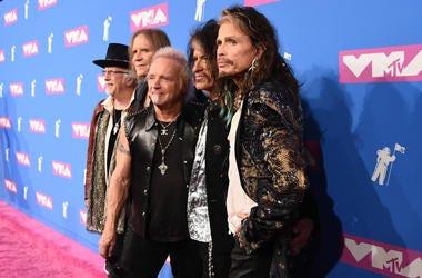 Aerosmith at MTV Awards