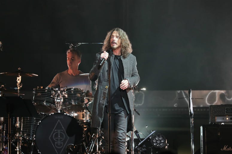 'Temple Of The Dog' perform onstage at Madison Square Garden on November 7, 2016