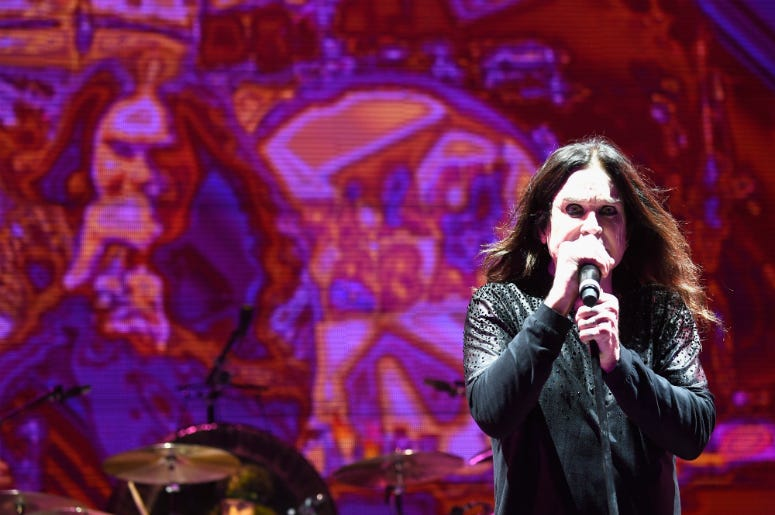 Ozzy Osbourne performs at Ozzfest 2016 at San Manuel Amphitheater