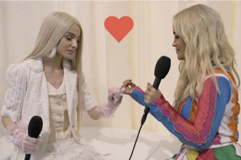 Poppy And Rita Ora
