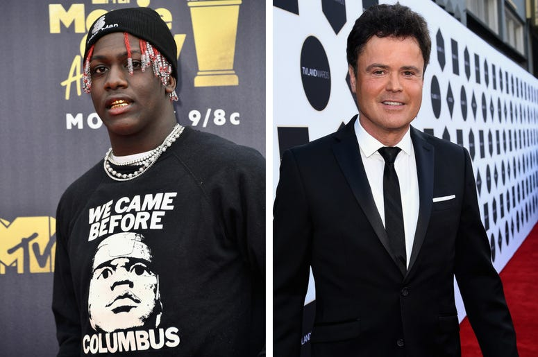 Lil Yachty And Donny Osmond