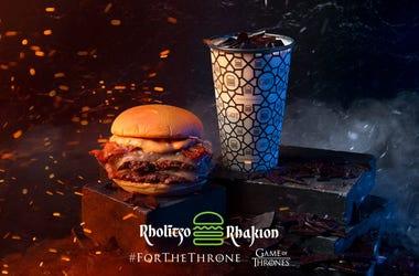 Shake Shack's Game of Thrones burger and shake
