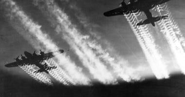 World War II B-17 Boeing