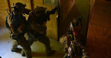 10th SFG CQB training