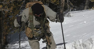 10th Special Forces winter warfare training