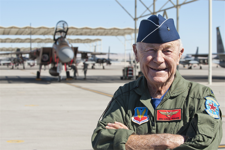 Brig. Gen. Charles E. Chuck Yeager
