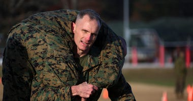 Marine general has COVID after Pentagon meeting