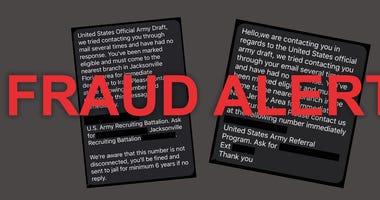 Recruiting fraud alert