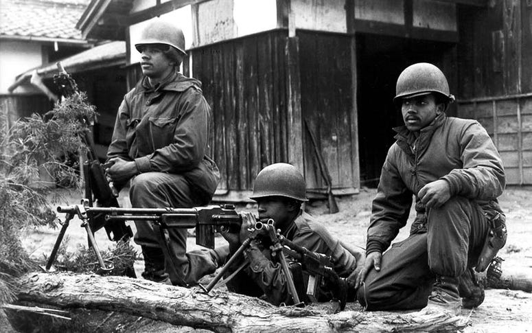 The 2nd Ranger Infantry company was the only all-black Ranger company formed in 1950. At the time of the fight on Hill 581, the company was down to seventy-five effectives.