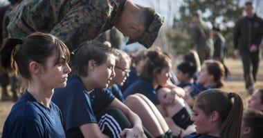 Future Female Marine Recruits