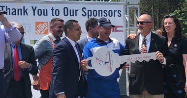 Tunnel to Towers Foundation gives injured veteran a home.