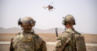 Soldiers in Kabul, Afghanistan
