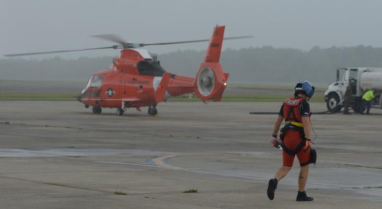 Coast Guard, National Guard Battling Barry