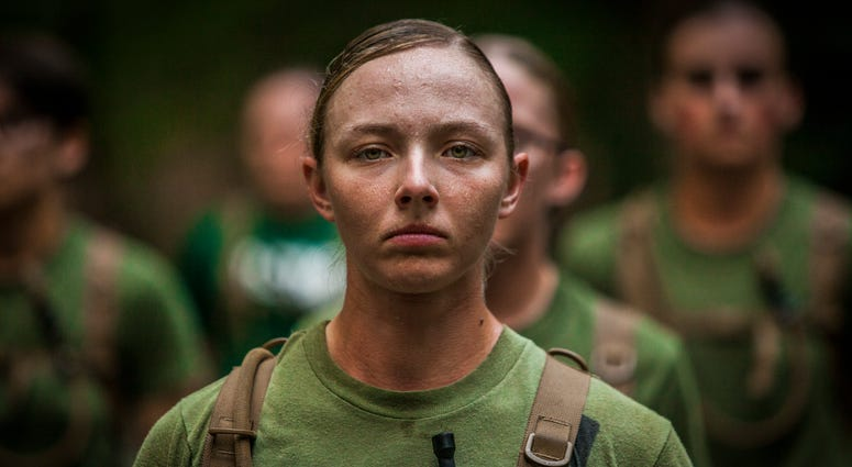Female Marine