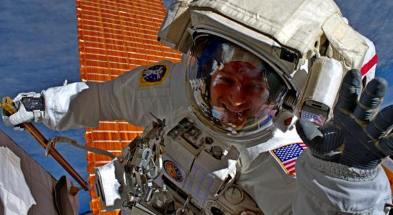 Army astronaut Col. Andrew Morgan
