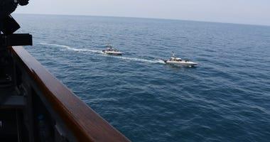 Iranian Gunboats