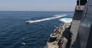 Iranian Islamic Revolutionary Guard Corps Navy (IRGCN) vessels