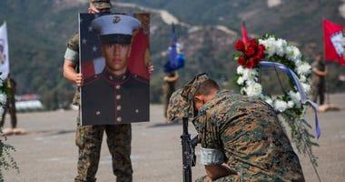 U.S. Marine Corps AAV Accident Memorial