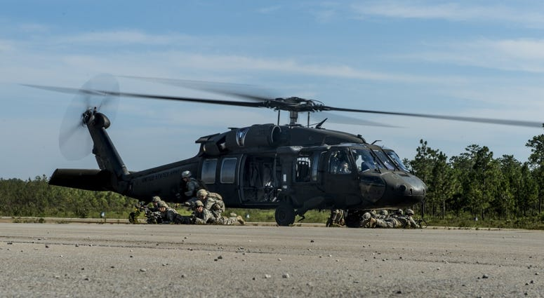 82nd Airborne training