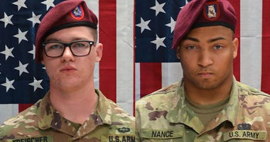 Spc. Michael Nance of Chicago, Ill. and Pfc. Brandon Kreischer  were both killed in Afghanistan.