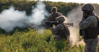 Marines with combined anti-armor team conduct weapon familiarization training June 3 at the North Training Area at Combined Arms Training Center Camp Fuji