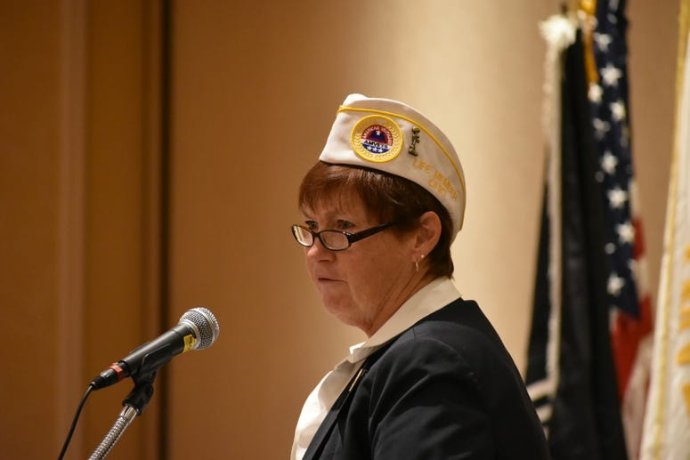 National first vice commander of AMVETS, Jan Brown