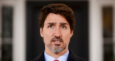 Prime Minister Justin Trudeau addresses Canadians on the COVID-19 pandemic from Rideau Cottage