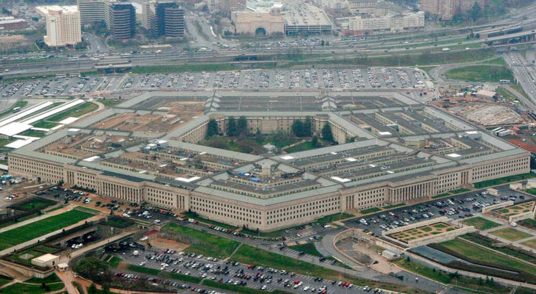 This March 27, 2008 file photo shows the Pentagon in Washington