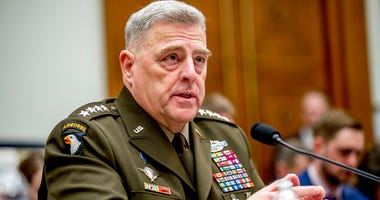 Joint Chiefs of Staff Chairman Gen. Mark Milley speaks at a House Armed Services Committee