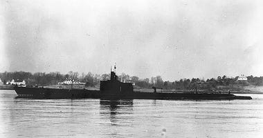 This Dec. 27, 1941, photo released by U.S. Navy shows USS Grenadier