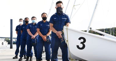 A group of Coast Guard cadets spent part of their summer filling in on a critical national security mission after a case of COVID-19 sidelined crew members