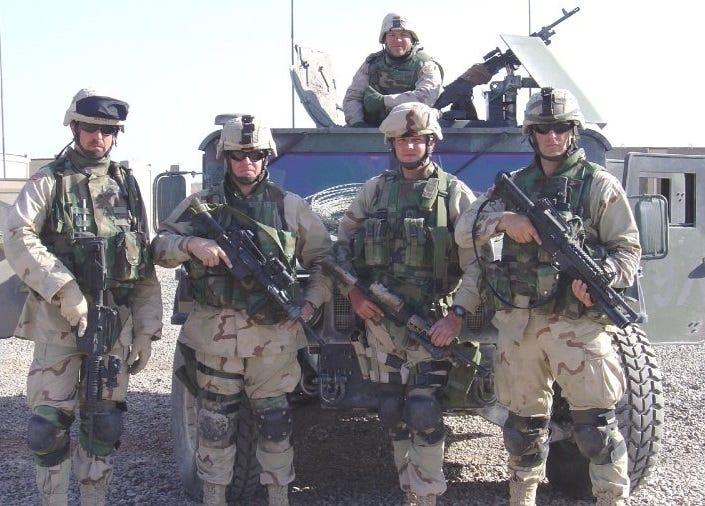 John Byrnes deployed overseas,