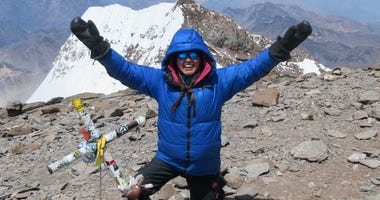 Navy veteran completes solo climb up Mt. Aconagua